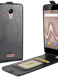 cheap -For Wiko tommy 2 Crazy Horse Vertical Flip Leather Protective Case