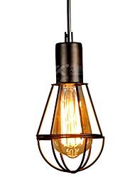 Недорогие -Подвесной светильник Даунлайт окрашен отделки конопли веревки мини-стиль 220-240В