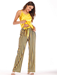 ieftine -Pentru femei V Adânc Costume Pijamale Mată
