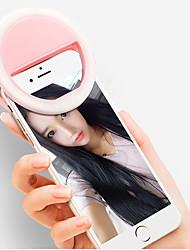 cheap -Portable Mini Mobile Phone LED Retardant Flash Lenses Beauty Self-timer Fill Light Smart Selfie For Phone