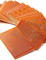 Недорогие -20 шт. 5 см х 7 см diy прототип бумаги печатной платы универсальный макет