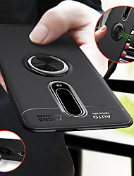 cheap -Magnetic Ring Holder Stand Soft TPU Case For OnePlus 8 Pro One Plus 7T Pro OnePlus 7 Pro OnePlus 6T OnePlus 6 Silicone Shockproof Back Cover
