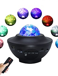 cheap -LED Starry Galaxy Projector Night Light Tiktok Light Projection 6W with Bluetooth Music Speaker 21 Lighting Modes Adjustable with Remote Control