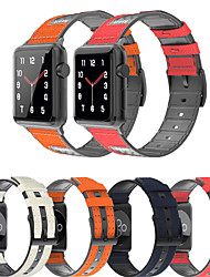 cheap -For Apple Watch Series 6 SE 5 4 3 2 1 Leather Silicone Bracelet Sport Strap Accessories Replacement wristband for iwatch 38mm 42mm 40mm 44mm
