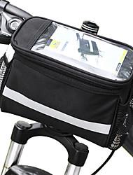 cheap -ROSWHEEL 4.5 L Bike Handlebar Bag Moistureproof Wearable Shockproof Bike Bag PVC(PolyVinyl Chloride) 600D Polyester Bicycle Bag Cycle Bag Samsung Galaxy S6 / iPhone 4/4S / LG G3 Cycling / Bike