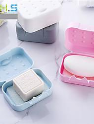 Недорогие -Портативная мини удобная ванная комната блюдо тарелка дома душ на открытом воздухе путешествия туризм держатель контейнер запайки мыльница случайный цвет
