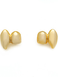 cheap -Teeth Set / Teeth Grills Statement Stylish Luxury Unisex Body Jewelry For Halloween Street Copper Gold Silver 1 Pair