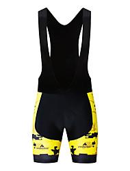 cheap -Miloto Men's Cycling Bib Shorts Bike Bib Shorts Bottoms UV Resistant Quick Dry Sports White / Black Mountain Bike MTB Road Bike Cycling Clothing Apparel Race Fit Bike Wear / Stretchy