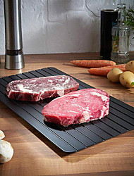 cheap -Fast Defrosting Tray Thaw Frozen Food Meat Fruit Quick Defrosting Plate Board Defrost Kitchen Gadget Tool