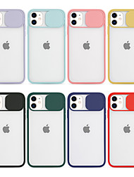cheap -Case With (HD)Tempered Glass Front Screen Protector For Apple iPhone SE2020/11 /11 Pro /11 Pro Max CameraLens Protection Back Cover Transparent TPU / PC for iPhone 7/7P/ 6 /6p/XS/XR/XS MAX
