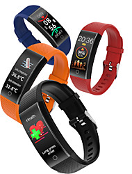 cheap -696 QW18T Unisex Smart Wristbands Android iOS Bluetooth Waterproof Heart Rate Monitor Blood Pressure Measurement Sports Thermometer Pedometer Call Reminder Activity Tracker Sleep Tracker Sedentary