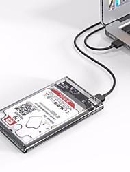 Недорогие -Орико 2,5 дюйма прозрачный USB3,0 HDD чехол без инструмента UASP жесткий диск корпус 2 ТБ для хранения