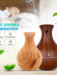cheap -130ml USB Electric Air Wood Ultrasonic Air Humidifier Essential Oil Aromatherapy Cool Mist Maker