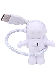 cheap -Flexible USB White Astronaut Tube Portable LED Night Light DC 5V Bulb For Computer Laptop PC Notebook Reading Home Decoration