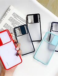 Недорогие -чехол для телефона с защитой от слайдера для Huawei P40 / P40Pro Plus / P30 / P20Pro / Mate 30Pro / 20 / Nova 6 / Nova 5Pro Мягкая матовая прозрачная противоударная крышка объектива