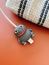 cheap -Cable Protective Case Cute for iPhone Samsung Cable Case Soft
