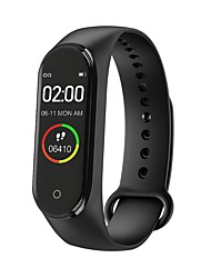 cheap -M4 Smart Wristband for IOS/Samsung/Android Phones, Long Battery-life Sports Bluetooth Fitness Tracker Support Remind Call/Notification