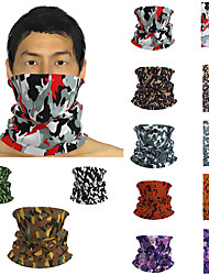 cheap -Men's / Unisex 3D Print Square Scarf / Infinity Scarf / Hijab - Print / Color Block Multifunctional