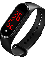 cheap -SKMEI Unisex Sport Watch Digital Modern Style Sporty Outdoor Thermometer Digital Black Blue Red / One Year / Rubber / LCD / Noctilucent