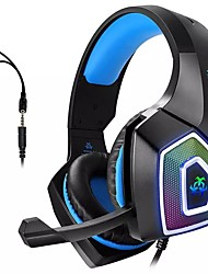 cheap -Hunterspider V1 Dual Ear Canal Bass Gaming Headset With Microphone 3.5 Mm Jack For Smart Audio Gaming Devices For PC And PS4