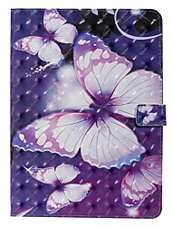 cheap -Case For Apple iPad New Air 10.5 / iPad Mini 3/2/1/4/5 Wallet / Card Holder / with Stand Full Body Cases Butterfly PU Leather For iPad 10.2 2019/Pro 11 2020/Pro 9.7/2017/2018/iPad 2/3/4