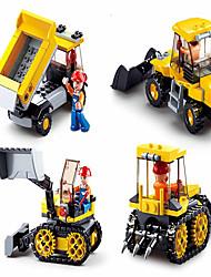 cheap -ENLIGHTEN Building Blocks Construction Set Toys Educational Toy Building Bricks Car Cartoon Building Toys Unisex Boys' Girls' Toy Gift / Kid's