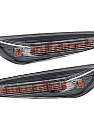 Недорогие -2 шт. Автомобиль 18 светодиодные указатели поворота сигнала поворота боковые габаритные огни передний левый правый лампы для BMW E82 E88 E60 E61 E90 E91 E92 E92 E93