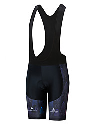 cheap -Miloto Women's Cycling Bib Shorts Bike Shorts Bottoms UV Resistant Quick Dry Sports White / Black Mountain Bike MTB Road Bike Cycling Clothing Apparel Race Fit Bike Wear / Stretchy