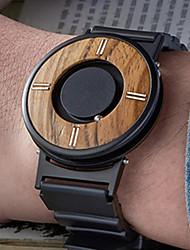cheap -Men's Sport Watch Quartz Fashion Day Date Analog Black Brown / One Year / Silicone / Japanese / Japanese