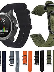 cheap -1 Pcs Watch Band Nylon Canvas Strap for Garmin Vivoactive 3 / Vivoactive 3 Music  Nylon Replacement Wristband Smart Bracelet for Garmin Vivoactive 3 / Vivomove HR / Forerunner 245 / 245M