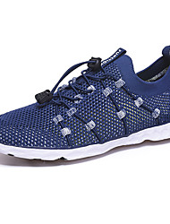 cheap -Men's Fall Sporty / Casual Daily Outdoor Trainers / Athletic Shoes Hiking Shoes / Upstream Shoes Mesh Breathable Non-slipping Shock Absorbing Dark Grey / Black / Purple