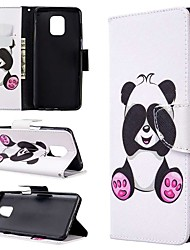 cheap -Case For Xiaomi Redmi Note 8T/Redmi Note 9 Pro Max/CC9 Pro Wallet / Card Holder / with Stand Full Body Cases Panda PU Leather For Xiaomi Note 10 Pro/Redmi 8/8A/K30/Note 9S/K20/Redmi Note 8 Pro