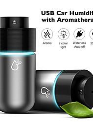 cheap -200ml Portable Auto Mini Ultrasonic USB Car Air Humidifier Essential Oil Diffuser LED Lights Aromatherapy for Car Aroma Diffuser