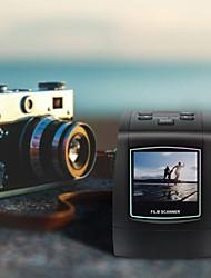Недорогие -мини сканер негативных пленок 35мм 135мм слайд переносной пленочный конвертер фотографий программа для просмотра цифровых фотографий с 2,36