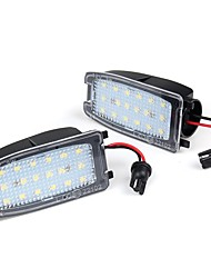 cheap -2PCS LED Under Mirror Puddle Light 12V 3W White For Range Rover Sport LR2 LR3 LR4