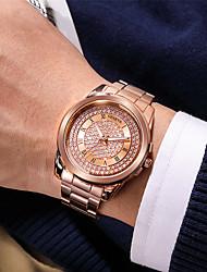 cheap -Women's Quartz Watches Quartz Stylish Fashion Adorable Analog Rose Gold Gold Silver / One Year / One Year