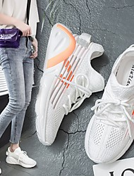 cheap -Women's Trainers / Athletic Shoes Summer Flat Heel Round Toe Daily Mesh Yellow / Orange