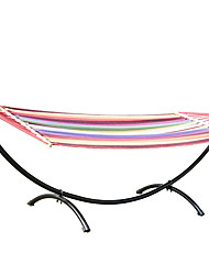 cheap -Factory Wholesale Outdoor Leisure Garden Hammock Garden Balcony Steel Tube Swing Hammock Hammock Frame Adult Hammock