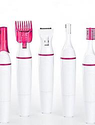 Недорогие -5 в 1 электрический триммер для бровей макияж безболезненный эпилятор для бровей мини-бритва эпиляция тела для женщин (аккумулятор)