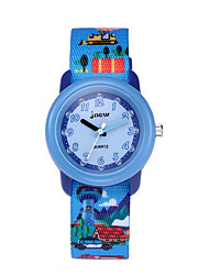 cheap -Kids Sport Watch Automatic self-winding Sporty Christmas Water Resistant / Waterproof Analog Blue