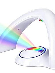 cheap -1pcs LED Colorful Rainbow Lamp Tiktok Star Light LED Night Light Romantic Rainbow Projector Lamp Universal Projection Lamp Portable Home Decor