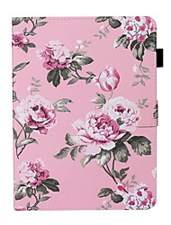 cheap -Case For Apple iPad New Air 10.5 / iPad Mini 3/2/1/4/5 Card Holder / with Stand / Flip Full Body Cases Flower PU Leather For iPad 10.2 2019/Pro 11 2020/Pro 9.7/2017/2018