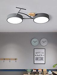 cheap -Simple And Creative Child And Boy Room Ceiling Light Led Bicycle Lighting 24W