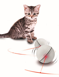 cheap -Ball Laser Toy Electrical Toy Cat Kitten Pet Toy 1pc Round Pet Friendly Lighting LED Pet Exercise ABS+PC Gift