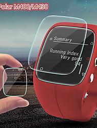 Недорогие -5 шт. Защитная пленка для полярного закаленного стекла m400 / m430, прозрачное высокое разрешение (hd), устойчивое к царапинам / твердость 9ч