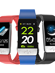 cheap -T1 Unisex Smart Wristbands Android iOS Bluetooth Waterproof Heart Rate Monitor Health Care Information Camera Control ECG+PPG Pedometer Call Reminder Sleep Tracker Community Share