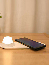 cheap -Table Lamp LED / Mobile phone Wireless Charging Modern Contemporary USB Powered For Living Room / Bedroom Plastic White