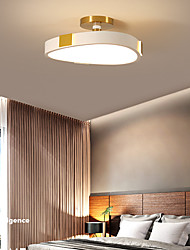 cheap -Modern Simple LED Ceiling Light Personality Creative Dining Room Living Room Aluminum Tianyi Lamp 16W