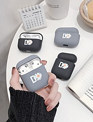cheap -Qi Wireless Charging Cover Case Simple Style Apple Airpods 2 Apple Airpods Pro Scratch-proof Plastic Shell