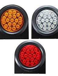 cheap -24V 19 LED Round Reflector Rear Tail Brake Stop Marker Lights Indicator For Car Truck Trailer